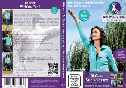 Wildgans Qi Gong DVD Cover Qigong Lehr-DVD