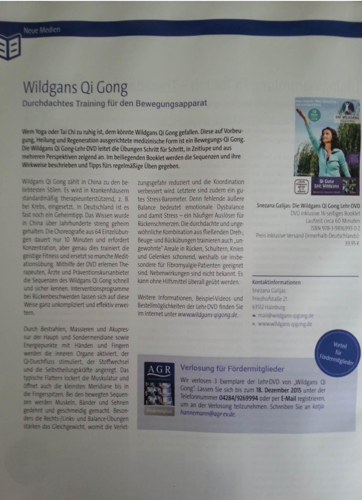 Chi-Kung-Pressetext-AGR-Rückenmagazin-Beitrag-Qigong2015