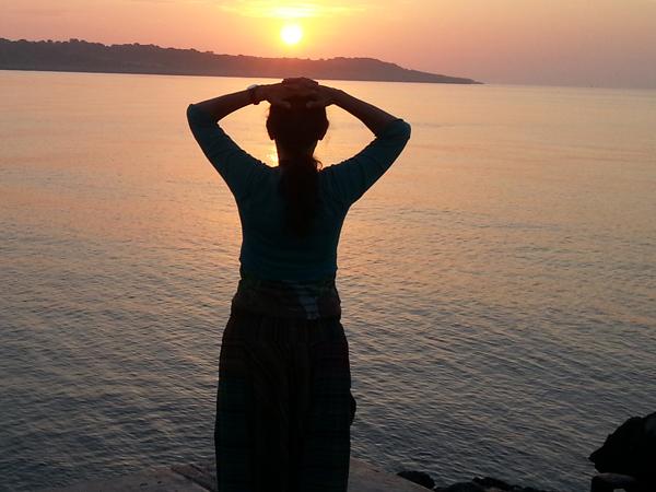 Qigong Sonnenaufgang Olympia Nutze die drei Quellen von Qi / Prana für optimale Gesundheit