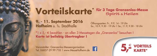 Wildgans Qigong mit Stand bei der Hofheimer Messe 9.-11. September 2016 + vergünstigte Eintrittskarten