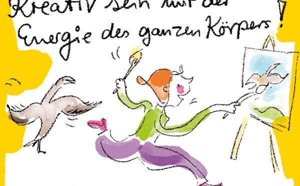 Der K2-Workshop im Rhein-Main-Gebiet:  Kreativ sein mit der Energie des ganzen Körpers