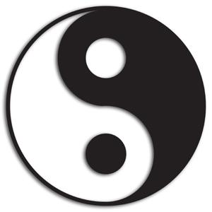 "yin yang 609459 original R K B by Martin ""Umweg Jakarta"" (Rezension) oder Tao(ismus) ist überall"